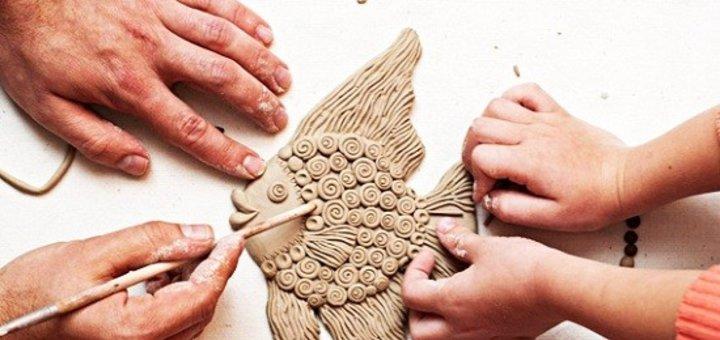 Обучающий курс лепки из глины и пластилина для детей в центре «ТалантВилль»