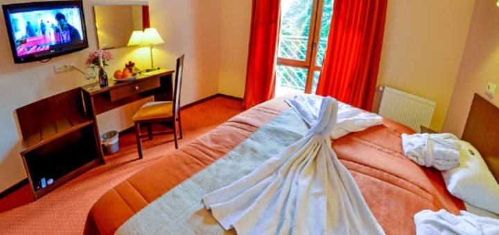 От 3 дней VIP-отдыха для двоих со спа-зоной и тренажерным залом в «Романтик спа-отель» в Яремче