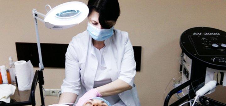 Уходовая программа за лицом для мужчин на профессиональной французской косметике в косметологии «Medical Aesthetics»