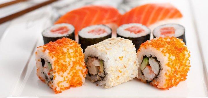 Скидка 25% на все меню в экспресс-суши «Бон Япон»