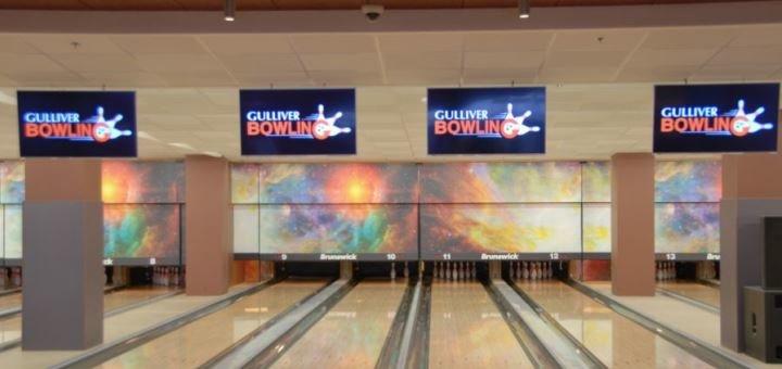 Скидка 50% на игру в боулинг в любое время в любой день в боулинг-клубе «Gulliver»