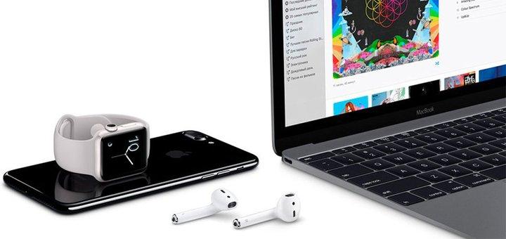 Скидка 800 грн на беспроводные наушники Apple AirPods MMEF2