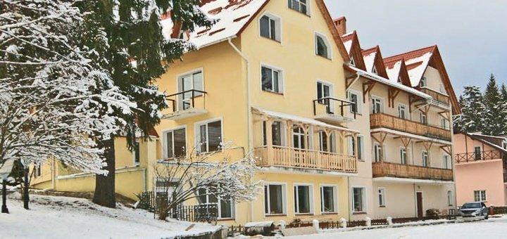 От 3 дней горнолыжного отдыха в высокий сезон в отеле «Калина» в Славском