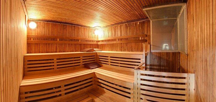 До 3 часов аренды финской сауны для компании в комплексе «Левобережный»