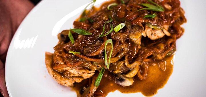 Скидка 50% на меню кухни и бара в ресторане «Люди. Casual Food»