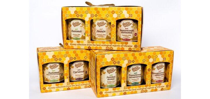 Суперпредложения на медовые подарочные наборы!