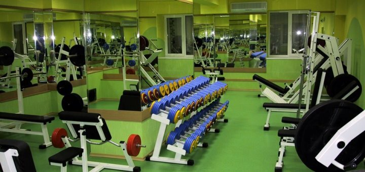 До 6 месяцев посещения фитнес-клуба «АтлетикАс»