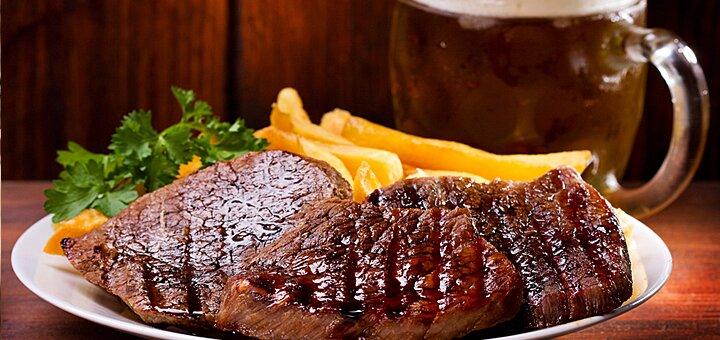 Скидка 40% на меню кухни и бара в пабе «Чемодан»