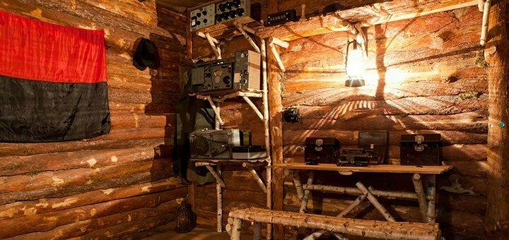 Посещение квест-комнаты «Партизанский штаб» в любой день недели от «ZiGRAYMO»