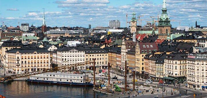 Скидка 550 грн. на тур «Таллин – Стокгольм – Таллин» от туристической компании «Ассоль»