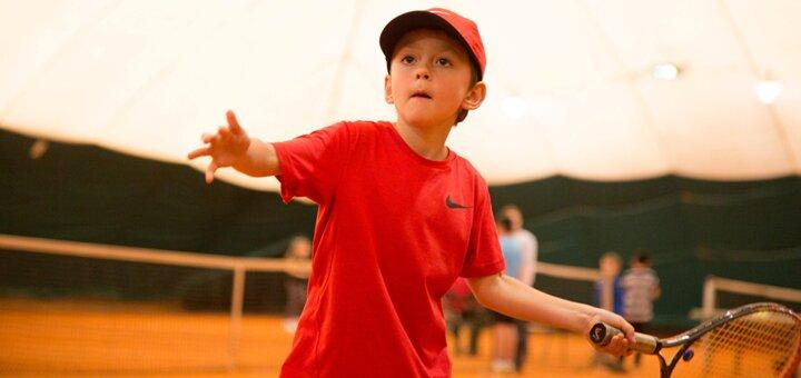 3 занятия большим теннисом с тренером по программе «Старттеннис»