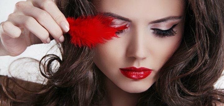 Татуаж губ, глаз или бровей в косметологическом кабинете «Красотка»