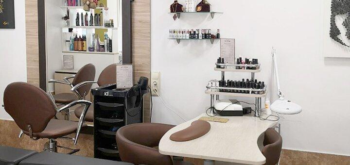 Холодное ламинирование с реконструкцией волос от салона «SJ & Team»