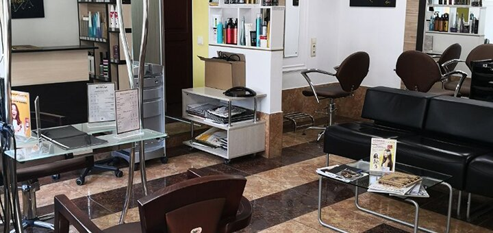 Эко-кератиновое восстановление или перманентное выравнивание волос в салоне красоты «SJ&Team»