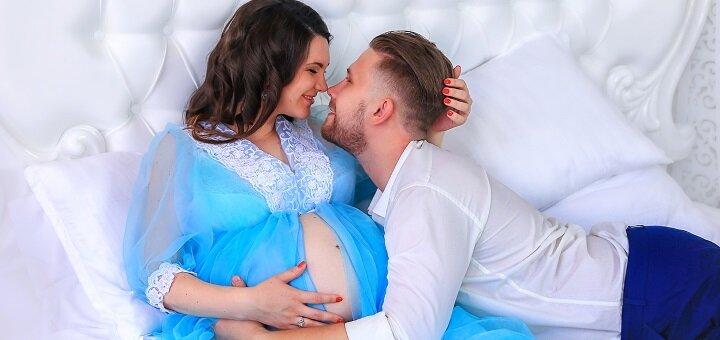 Фотосессия беременности «В ожидании чуда» от фотостудии «Art Home Photography»