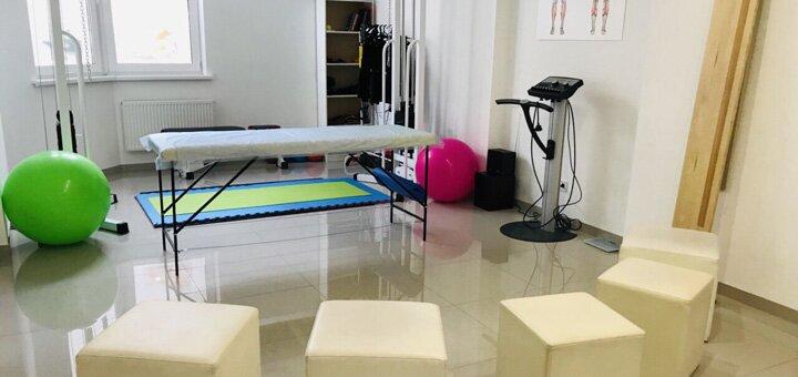 Консультация реабилитолога-кинезитерапевта, лечебный массаж в центре «Анатомия Здоровья»