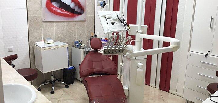 Ультразвуковая и механическая чистка зубов, полировка, фторирование в стоматологии «Уют CLINIC»