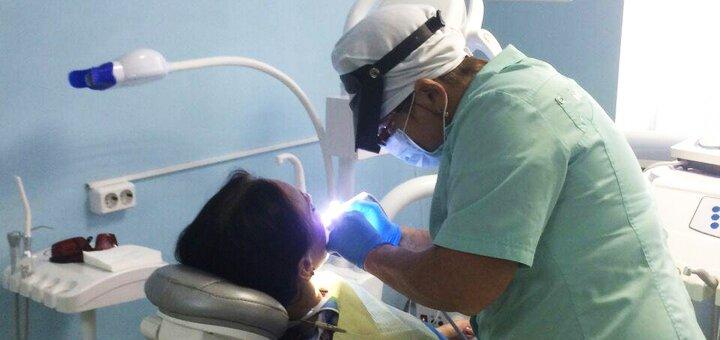 Комбинированная чистка и полировка зубов в стоматологии «Ваш стоматолог»