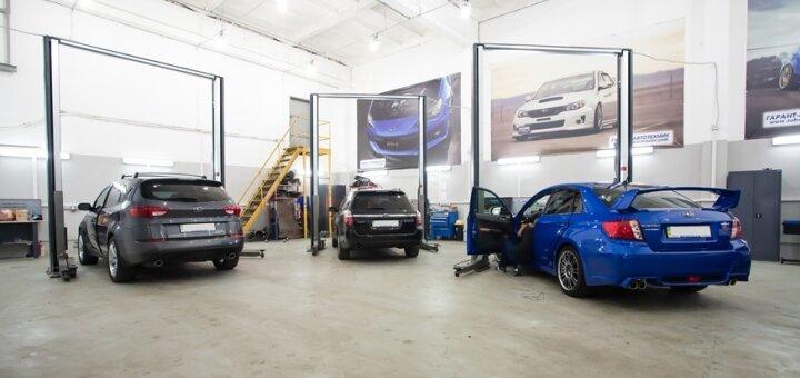 Покраска 1 любой кузовной детали автомобиля в техстанции «Garant CTO»