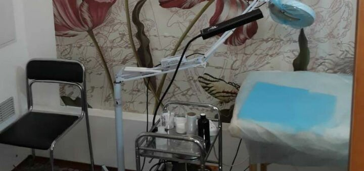Механическая чистка лица с пилингом и уходом от косметолога Натальи Павловой