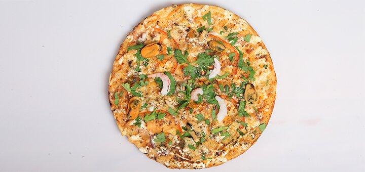 Скидка 50% на большую или маленькую пиццу в пиццерии на Ощепкова