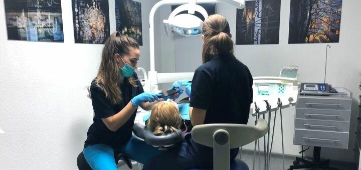 Ультразвуковая чистка зубов, Air-Flow и фторирование в стоматологии «Melius Ortho»
