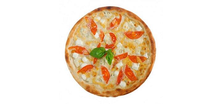 Скидка 50% на все меню пиццы от службы доставки «Freshtime»
