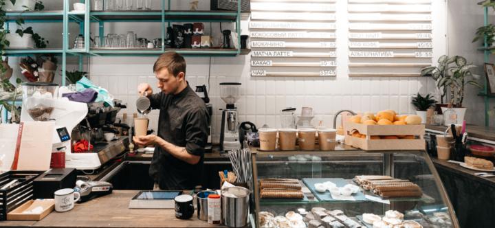 Скидка до 50% на напитки и десерты в авторской кофейне «Ехать нада»