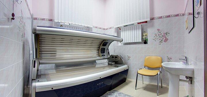 До 100 минут посещения солярия в оздоровительном комплексе «Сырец»