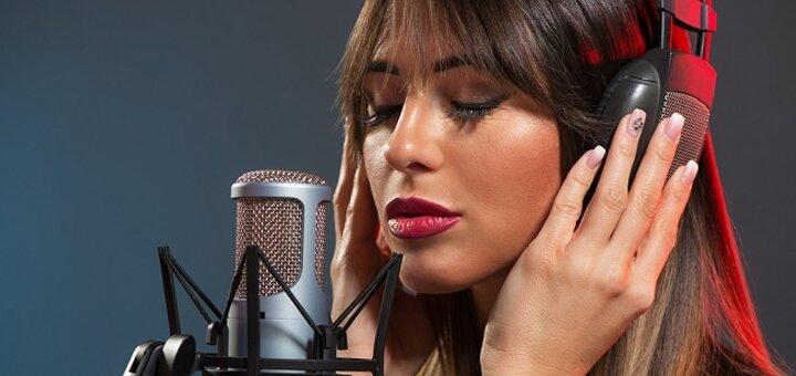 До 12 индивидуальных занятий вокалом в студии «Мастер»