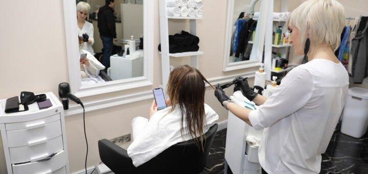 Женская или мужская стрижка для волос любой длины в студии красоты «AVRA beauty studio»