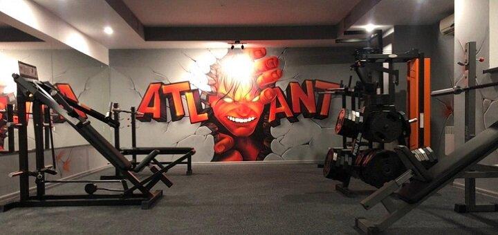 До 12 месяцев безлимитного посещения тренажерного зала «Atlant Gym Xtreme»