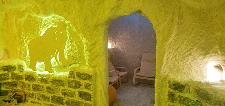 До 10 посещений соляной комнаты в комплексе «Соляная пещера на Оболони»