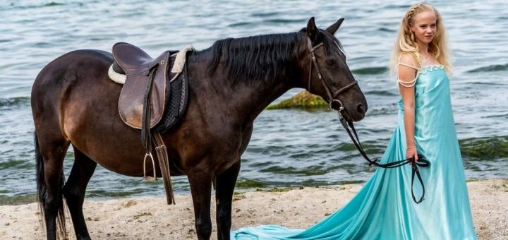 Скидка до 61% на прогулку на лошадях от конного двора «Олимп»
