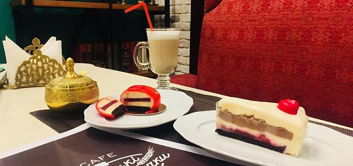 Скидка 40% на все меню в ланч-кофейне «Віденські булочки»