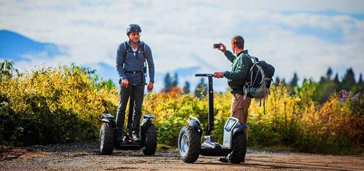 Скидка 50% на прогулки на электросамокатах Segway по Межигорью от «Green Wheels»