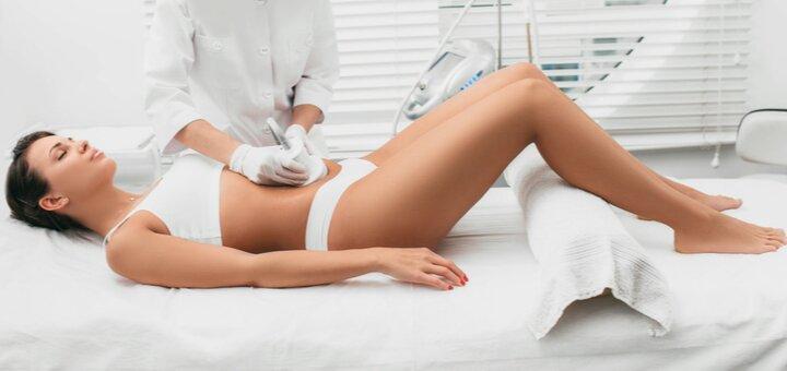 До 10 сеансов лазерного липолиза и лимфодренажного аппаратного массажа в центре «Laser Med»