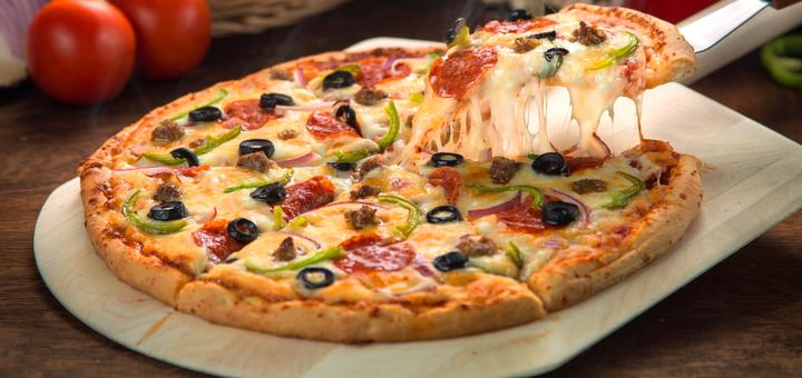 Скидка 50% на итальянскую пиццу от онлайн-ресторана «Холодильник»