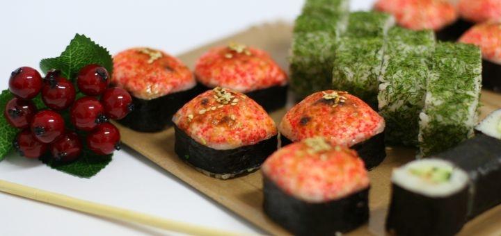 Скидка 52% на суши-сет «Ойши» в сети магазинов «Суши Сет»