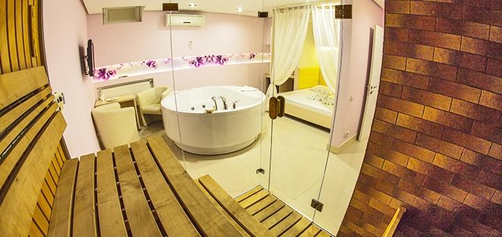 Романтические сутки с посещением хаммама в комплексе «SPA-отель» в Харькове