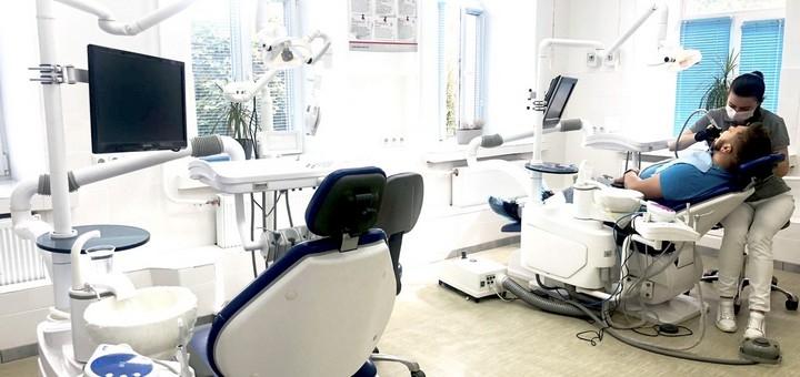 Скидка до 47% на лазерное отбеливание зубов с чисткой Air-flow в стоматологии «LoveStom»