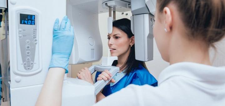 Компьютерная томография или рентген челюсти в стоматологической клинике «Giorno Dentale»