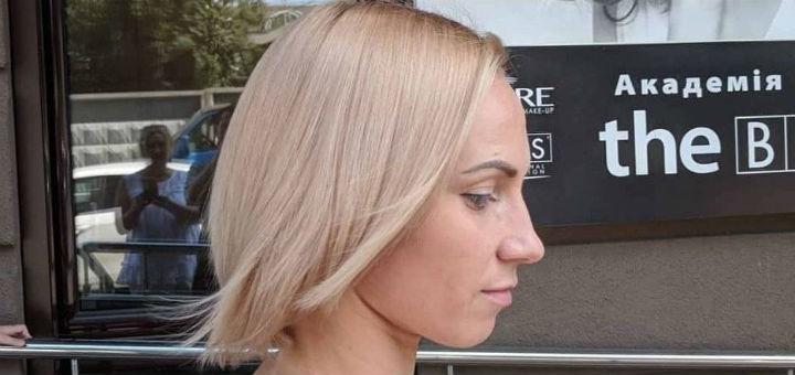 Объем и восстановление волос со стрижкой, укладкой от Игоря Малашкевича