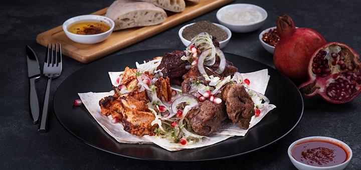 Скидка 50% на меню кухни от ресторана грузинской кухни «Georgia» на Крещатике