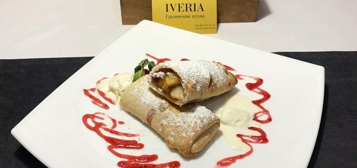 Скидка 40% на меню кухни в грузинском ресторане «Iveria»