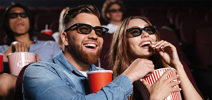 Скидка 50% на билеты в киноконцертном зале «Юбилейный»