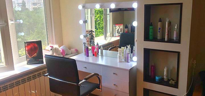 Ламинирование волос со стрижкой и укладкой в салоне красоты «Marme Room»