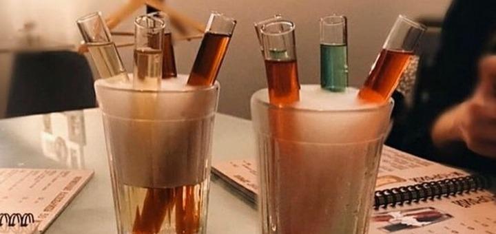 Сет из 5 дринк-шотов в баре «Морфий»