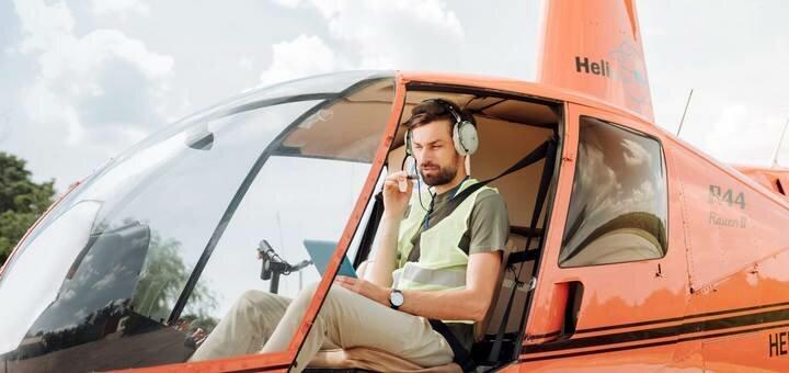 Скидка 50% на полёт на вертолете к церкви на воде в селе Гусинцы от «heli.com.ua»