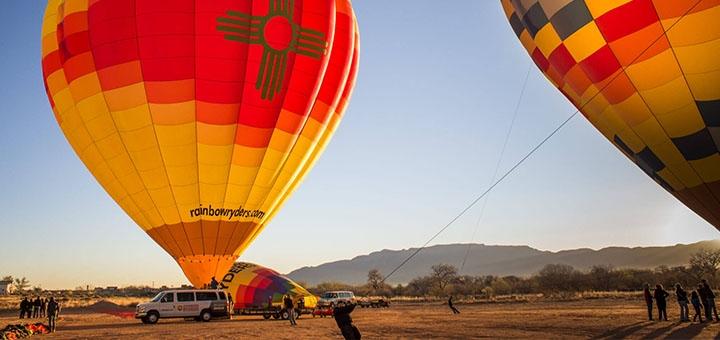 Скидка до 64% на полет на воздушном шаре на фестивале воздушных шаров от «Небо для тебе»